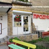 Эта фотография показывает, как можно в подобной квартире разместить магазин на первом этаже