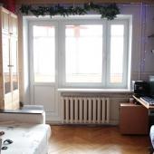 Жилая комната - площадь 19 метров