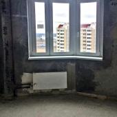 Квартира под чистовую отделку, сдана была в 2016 году