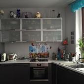 Кухня новая и современная на ул. Арх. Власова в этой 1-комнатной квартире