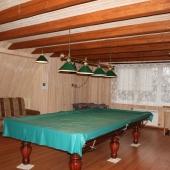 Бильярдная комната для отдыха в доме по ул. Большая Серпуховская, дом 219, в Подольском районе, поселок Железнодорожный