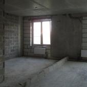 Комнаты раздельные, на фото разделение кирпичами комнат