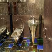 Туалет для гостей вот такой космический)