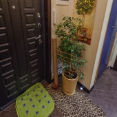 Надежная дверь при входе