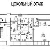 Поэтажный план цоколя