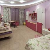 Это детская комната в этой квартире