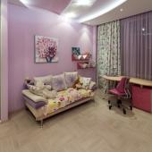 Площадь детской комнаты 14 м2