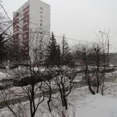 Вид со стороны бульвара