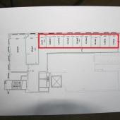 Посмотрите схему помещений, которые еще не сданы в аренду