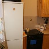 Холодильник и плита, более подробная фотография