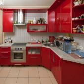 Шикарный гарнитур, хороший ремонт, кухня супер!!