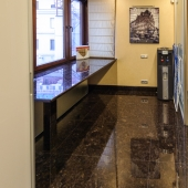 Это такой закуток в углу кухни на 4-ой Тверской-Ямской 22