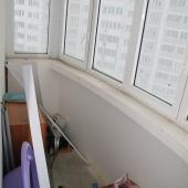 Двойная лоджия в квартире