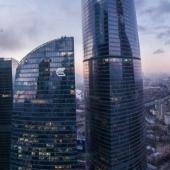 """Вот вид, который открывается из окна в апартаментах башни """"Москва"""""""