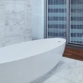 Здесь ванная