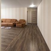 Вид на гостиную из коридора