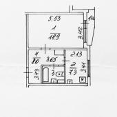 Поэтажный план-схема