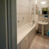 Фото ванной комнаты в квартире на ул. Молодёжной, дом 3