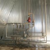 Разводка воды и отопления