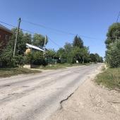 Дорога около дома в с. Козловка