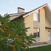 Дом с новой отделкой