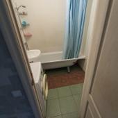 Ванная комната в этой квартире