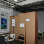 Общая площадь помещения под склад/офис/производство составляет 61,7 кв.м.