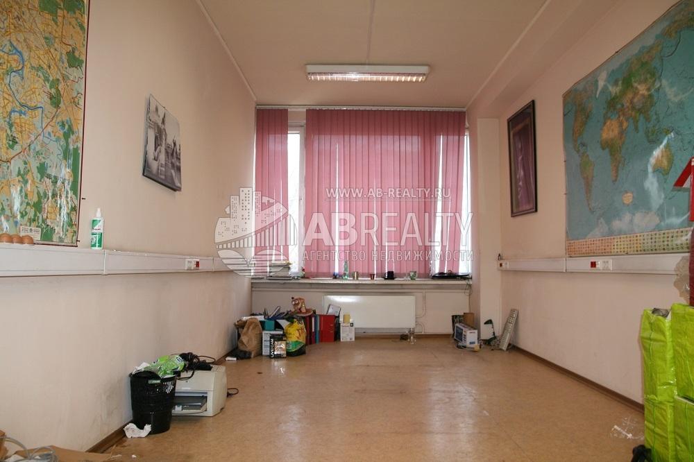 Единая комната площадью 20.5 кв.м.