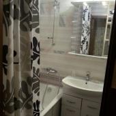 Ванная комната в этой квартире на ул. Профсоюзной, д. 156 к. 3