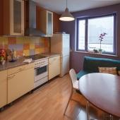 Кухня площадью 9.5 кв. м.