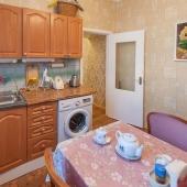 Кухня просторна как и в современных домах