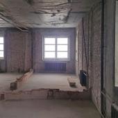 Большие окна в квартире свободной планировки на Ломоносовском пр-те, д. 7к5