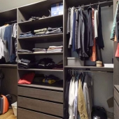 Оптимальное размещение одежды и обуви