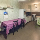 Площадь кухни 18.4 кв.м.