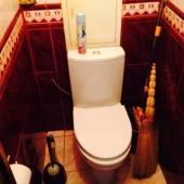 Можно посмотреть, что в туалете хорошая плитка