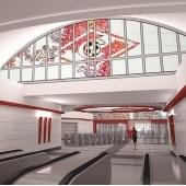 Новая станция метро в Москве называется «Спартак»