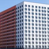 Строительство нового административно-офисного здания в д. Пыхтино