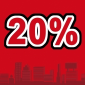 Скидка 20% на сопровождение всех сделок до конца ноября