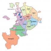 Онлайн-голосование: в каких округах хотят жить москвичи