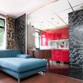 Продается однокомнатная квартира-студия на Херсонской улице