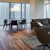 Башня ОКО - аренда трехкомнатных апартаментов на 54 этаже