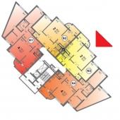 Схема продаваемой квартиры