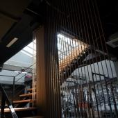 Лестница к раздевалкам