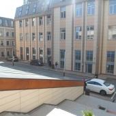 Вид с террасы на окружающее пространство