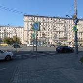Фотография от фасада Парка Мира, где продается здание по адресу: Проспект Мира, д. 102с29
