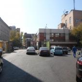 Заезд в Парк Мира через Графский переулок