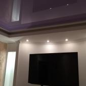 Потолочное покрытие в продаваемой квартире
