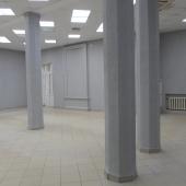 По колонам можно разбить площадь