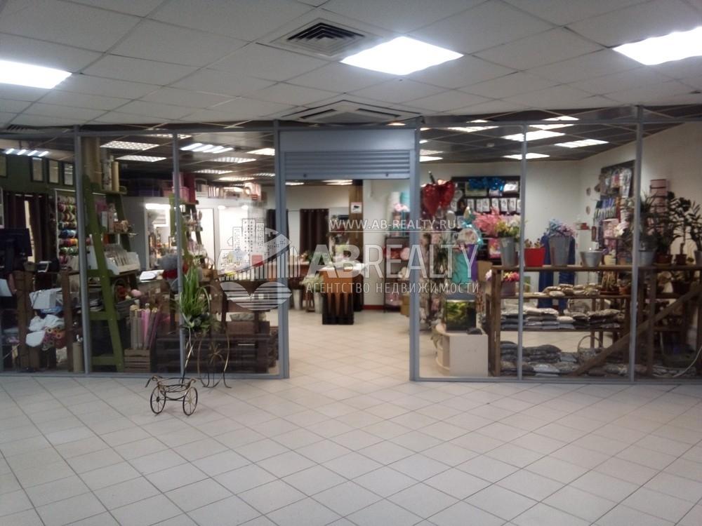 Торговый павильон 75 м2 цветы и подарки