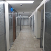 Снова стеклянный коридор